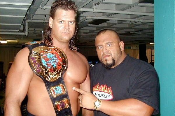 ECW Champion Mike Awesome and Tazz