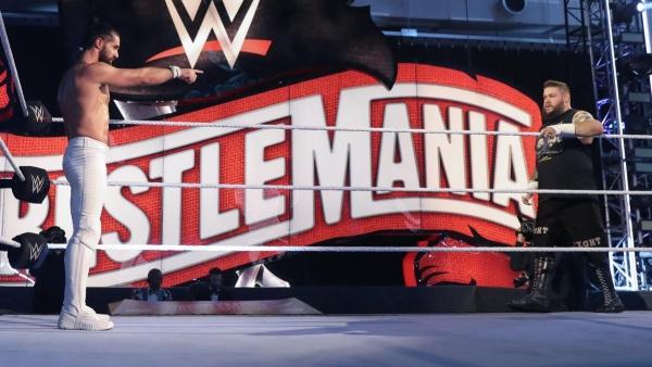 Seth Rollins Kevin Owens WrestleMania 36