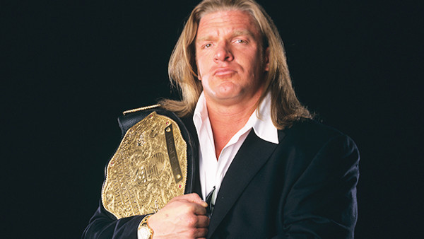 Triple H as World Heavyweight Champion