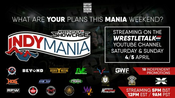 Wrestletalk Showcase Indymania