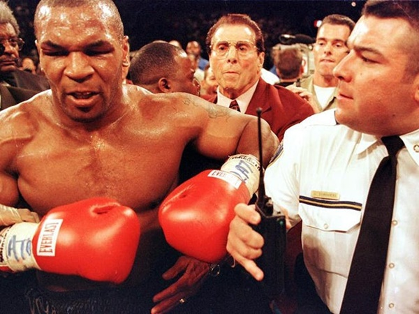 Mike Tyson in 1997
