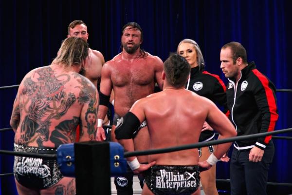 NWA Super Powerrr Strictly Business Villain Enterprises
