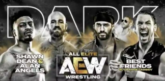tag team match aew dark