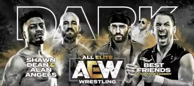 tag team match aew dark