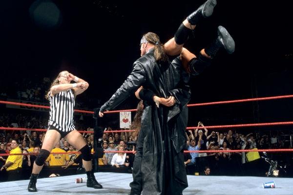 The Undertaker Triple H Shawn Michaels