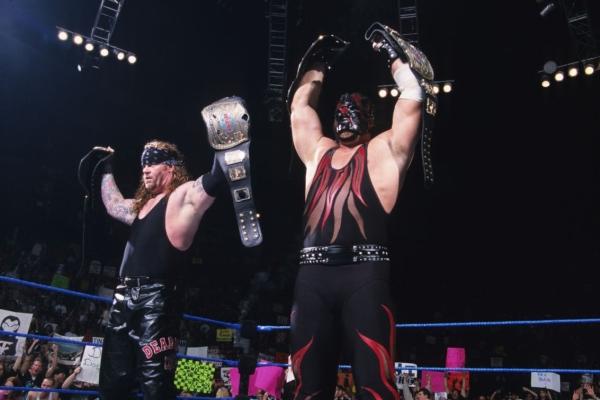 The Undertaker Kane Brothers of Destruction
