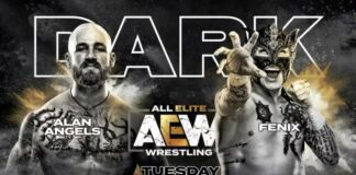 aew dark angels vs fenix