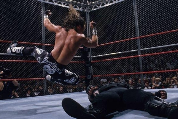 In Your House Badd Blood Shawn Michaels Undertaker
