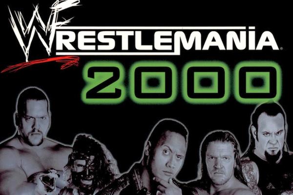 WWF WrestleMania 2000 Wrestling Video Game