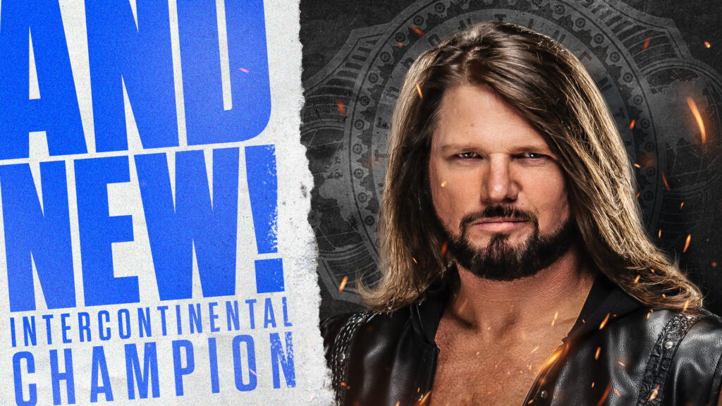 AJ Styles Intercontinental Championship