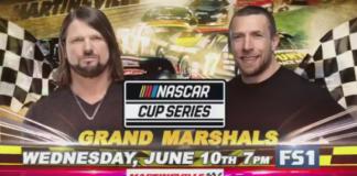 Aj Styles Daniel Bryan NASCAR