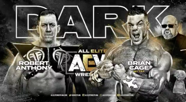 AEW DARK - Cage vs Anthony
