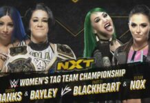 Sasha Banks & Bayley vs Shotzi Blackheart & Tegan Nox
