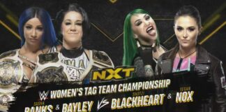 Sasha Banks & Bayley vs Shotzi Blackheart & Tegan Nox