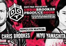 Chris Brookes vs. Miyu Yamashita