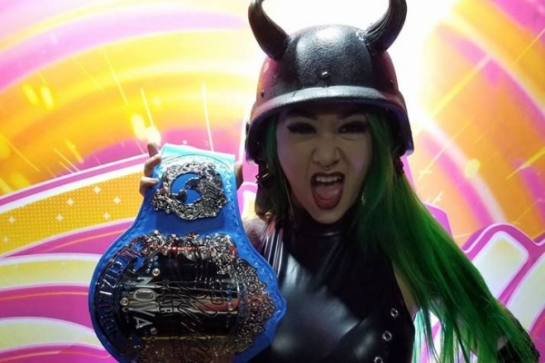 Shotzi Blackheart SHINE Nova Champion