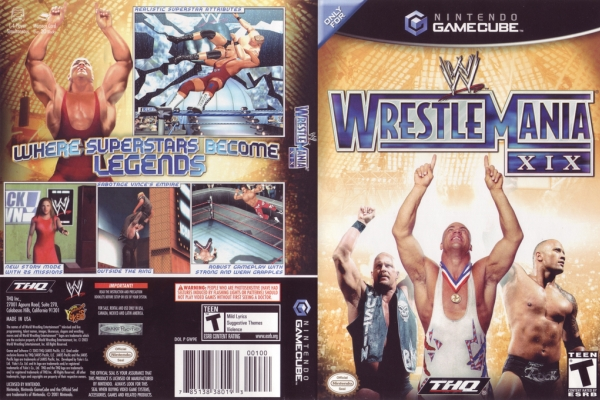 WWE WrestleMania XIX Wrestling Video Game
