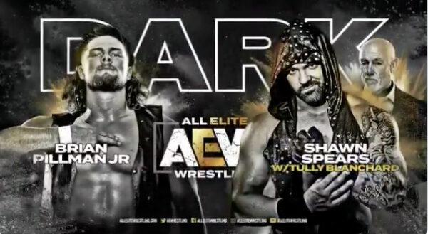 AEW DARK - Spears vs Pillman