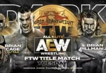 AEW DARK - Cage vs Pillman