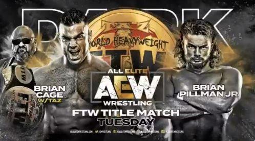 AEW DARK - Cage vs Pillman