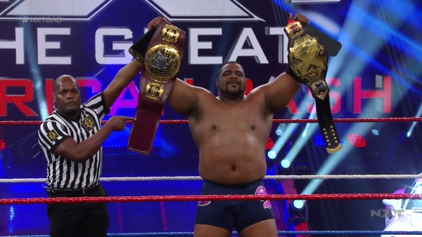 Keith Lee NXT and North American Champion