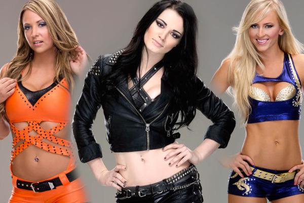 Paige Summer Rae Emma NXT