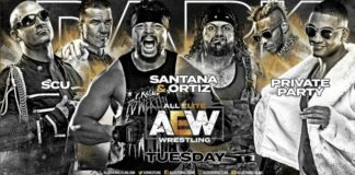 scu vs best friends vs private party aew dark