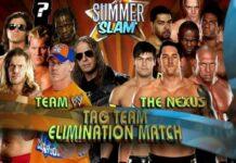 The Nexus Team WWE SummerSlam 2010