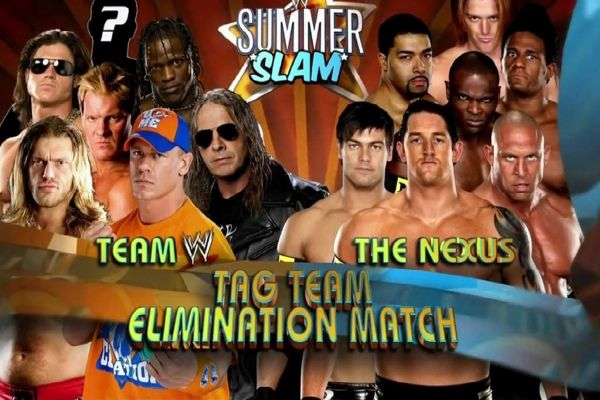 The Nexus Team WWE SummerSlam 2010