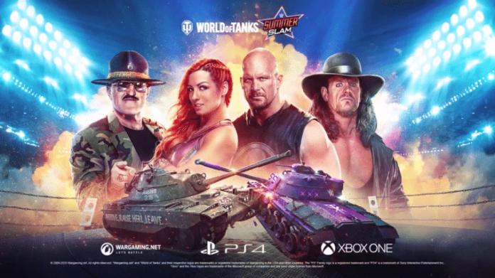 WWE World of Tanks