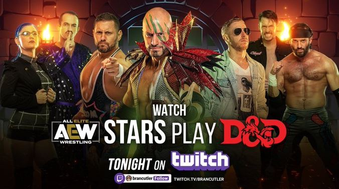 AEW Dungeons and Dragons