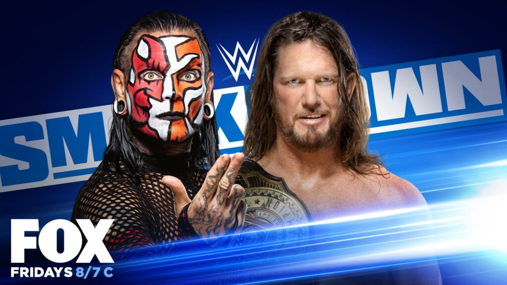 Jeff Hardy vs. AJ Styles Friday Night SmackDown
