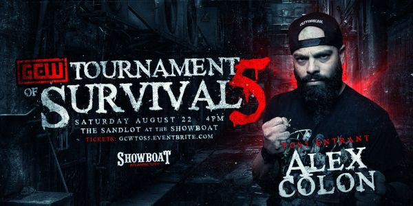 Alex Colon GCW Tournament of Survival 5