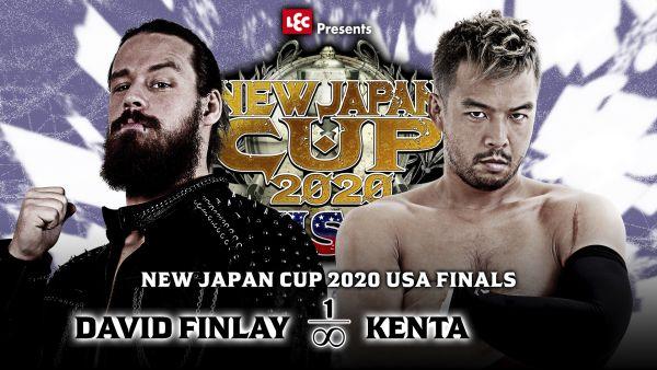 NJPW Strong David Finlay Kenta