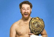 Sami Zayn WWE Intercontinental Championship