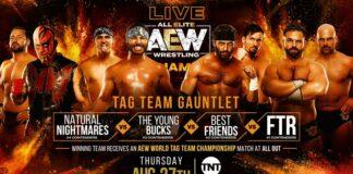 tag team gauntlent aew dynamite