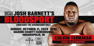 Calvin Tankman Bloodsport