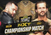 NXT Super Tuesday Balor vs. Cole