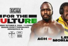 ACH Lee Moriarty GCW For The Culture