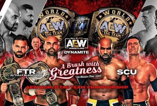 FTR vs SCU AEW Dynamite