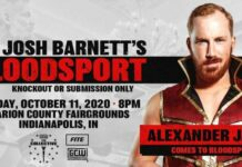 Alexander James GCW Josh Barnett's Bloodsport 3