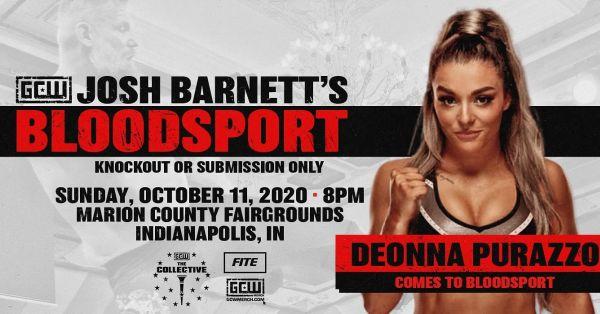 Deonna Purrazzo Josh Barnett's Bloodsport 3