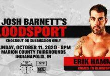 Erik Hammer Josh Barnett's Bloodsport 3