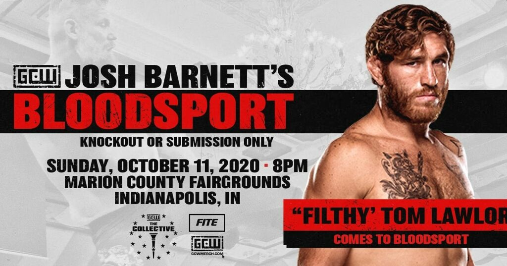 """Filthy"" Tom Lawlor Bloodsport 3"