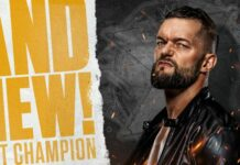 Finn Balor NXT Championship