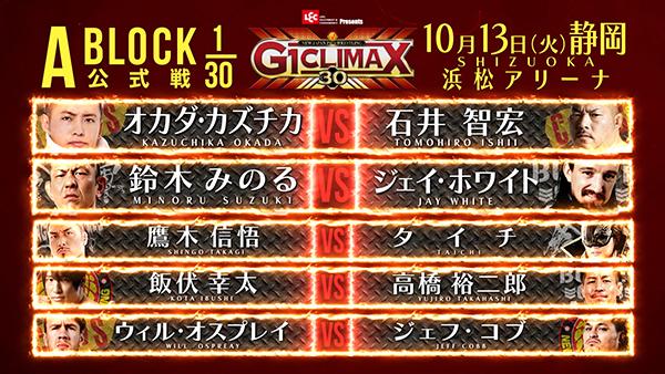 G1 Climax 30 NJPW