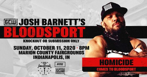 Homicide Josh Barnett's Bloodsport 3