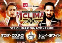 G1 Climax Kazuchika Okada Jay White