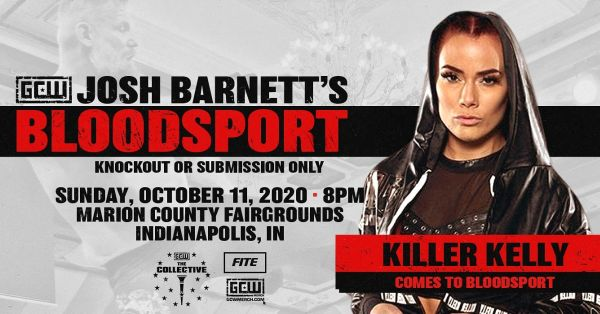 Killer Kelly GCW Josh Barnett's Bloodsport 3