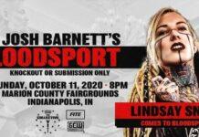 Lindsay Snow GCW Josh Barnett's Bloodsport 3